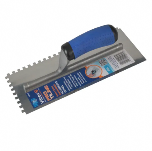 Vitrex 102957 Professional Stainless Steel 6mm Notched Adhesive Trowel 11 x 4½""